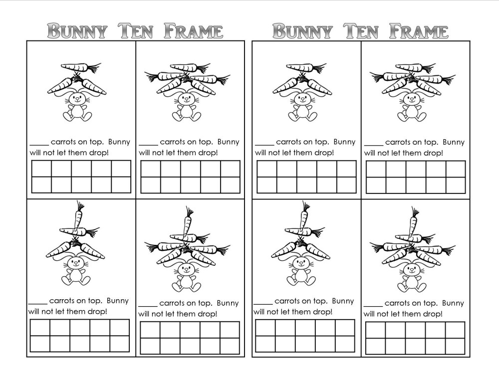 medium resolution of 10 Frame Addition Worksheet   Printable Worksheets and Activities for  Teachers