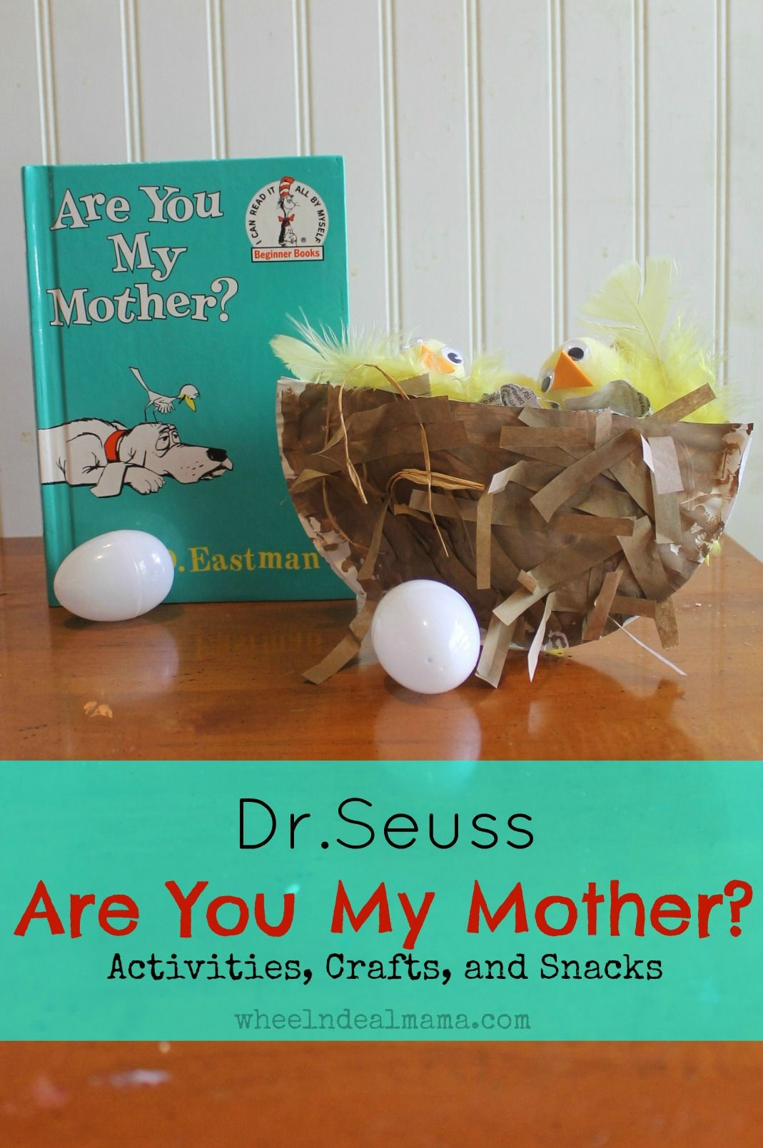 Are You My Mother Printable Worksheets