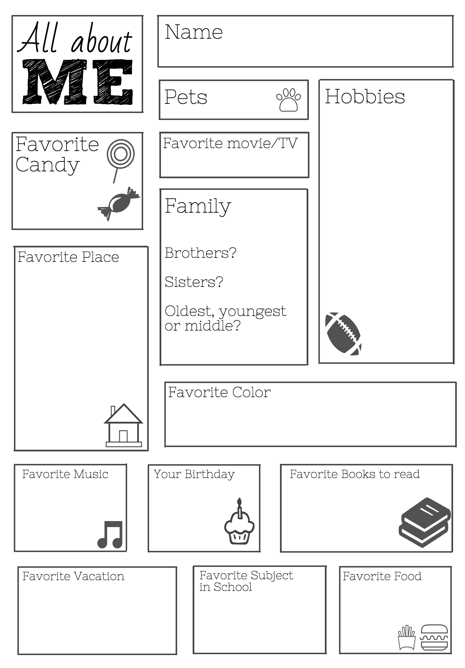 Free Printable School Worksheets For 6th Graders