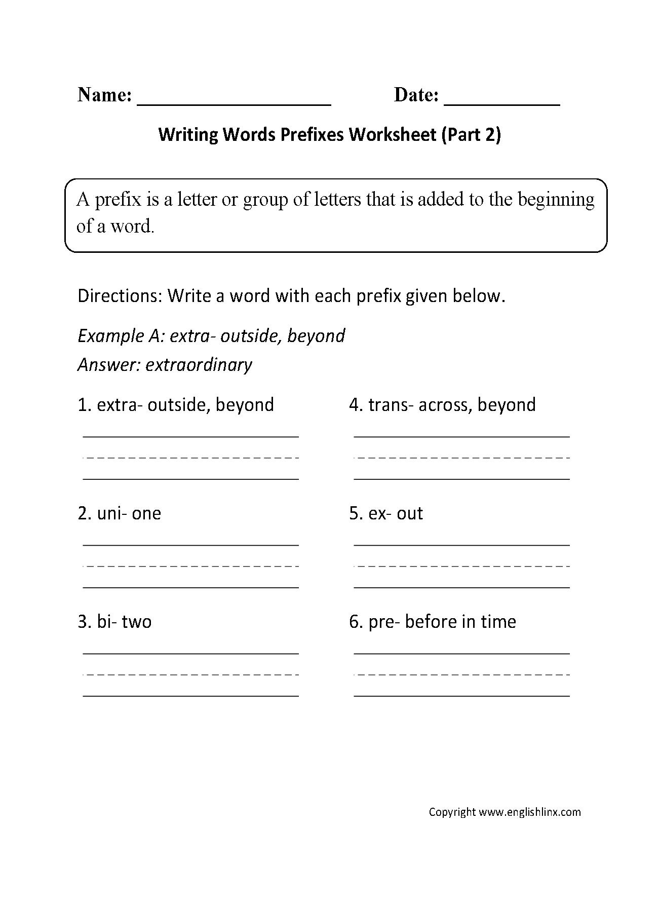 6th Grade Lessons
