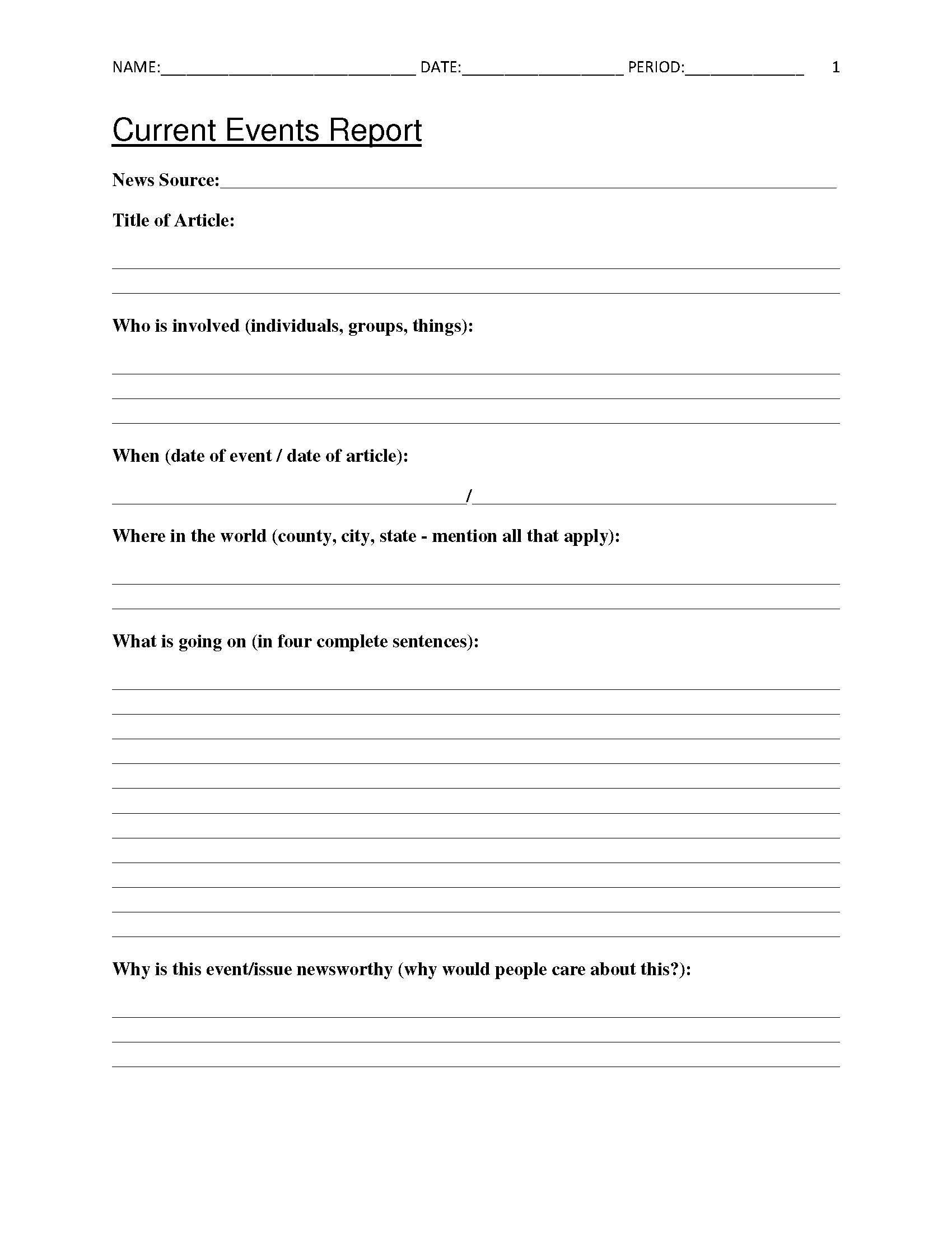 Free Printable 8th Grade Social Stu S Worksheets