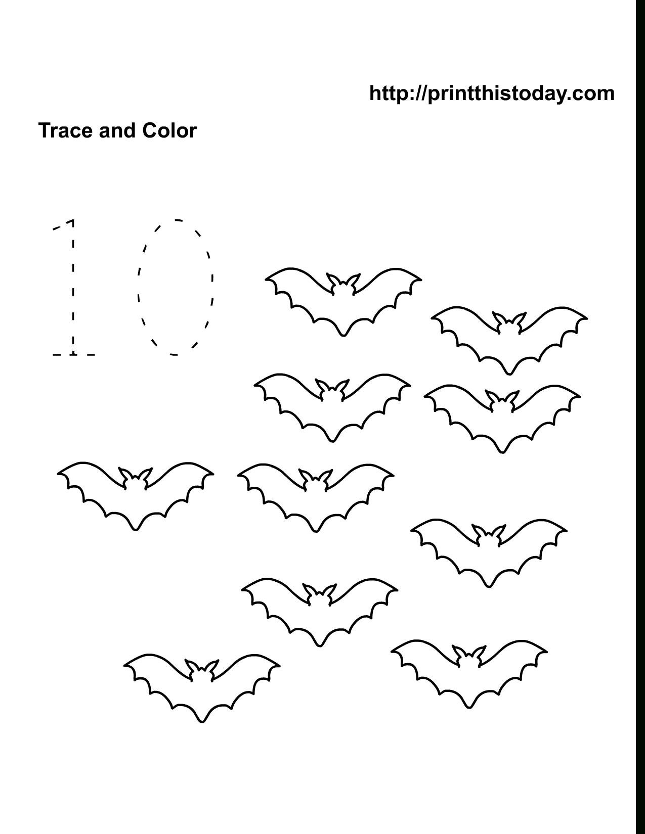 Free Preschool Activity Sheets With Number Activities