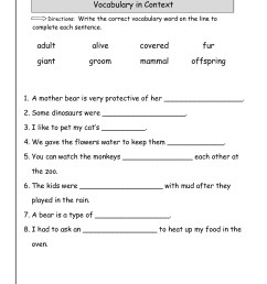 Fun Worksheets Science   Printable Worksheets and Activities for Teachers [ 1584 x 1224 Pixel ]