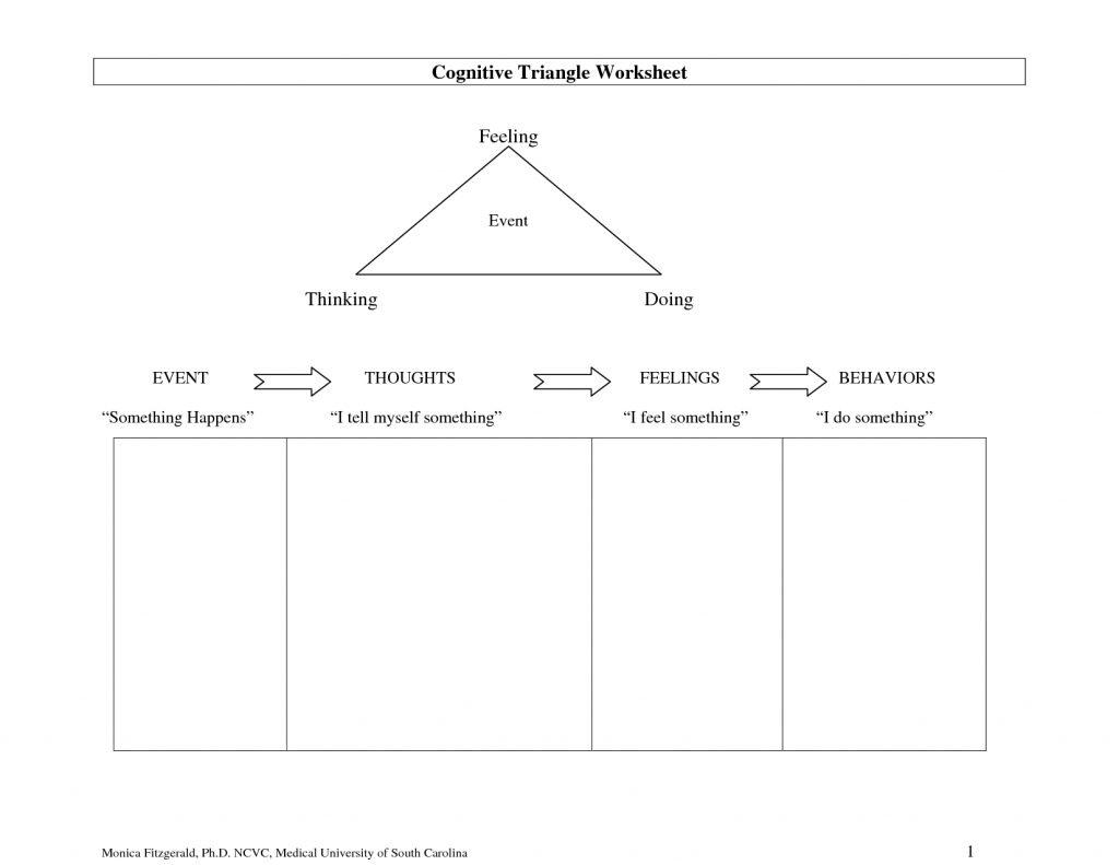Full Size Printable Feelings Worksheets