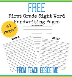 Old English Handwriting Worksheets   Printable Worksheets and Activities  for Teachers [ 2102 x 2102 Pixel ]