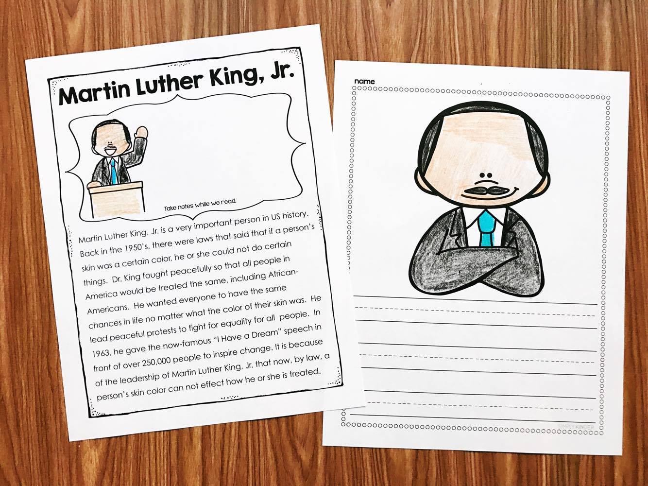 Honoring Martin Luther King Jr And A Freebie