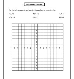 Coordinate Grid Mystery Worksheets   Printable Worksheets and Activities  for Teachers [ 1650 x 1275 Pixel ]