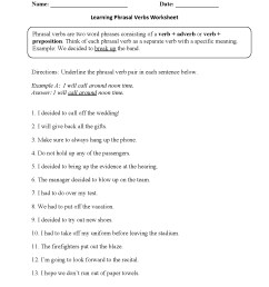 Verb Agreement Worksheet High School   Printable Worksheets and Activities  for Teachers [ 1662 x 1275 Pixel ]