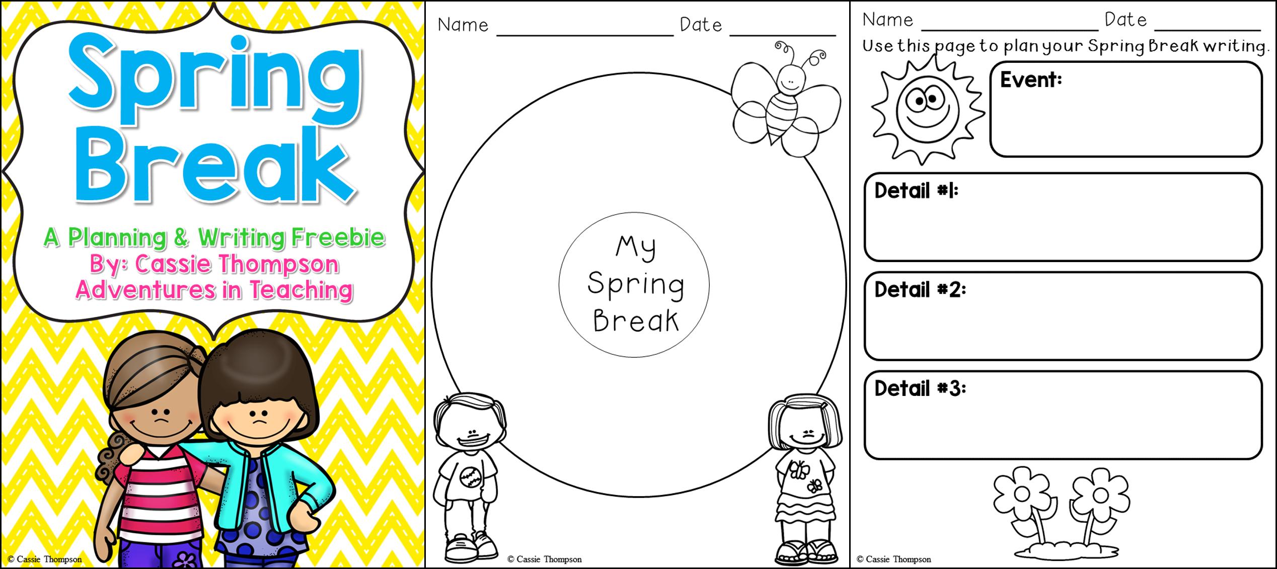 Spring English Worksheet