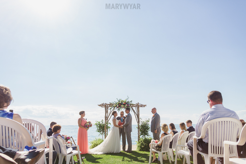 Catawba Island Club Wedding Photos Stunning Sunset