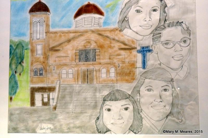 """Portrait of Four Little Girls"" By Mioshia Horn, Senior, Huffman High School."