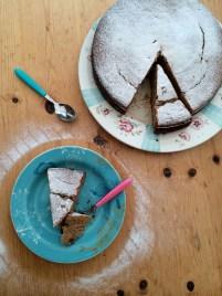 Cinnamon yoghurt cake