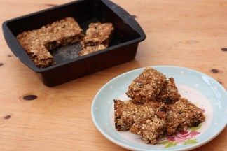 Sunday baking...'healthier' work snacks