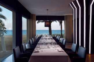 Detallismo en la decoración y la gastronomía de Montauk Steakhouse.