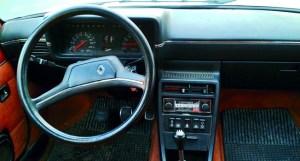 Interior del Renault 18, R18.