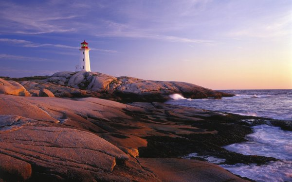 Canada, Nova Scotia, Travel Destination, Lighthouse Route, Lighthouse Peggys Cove