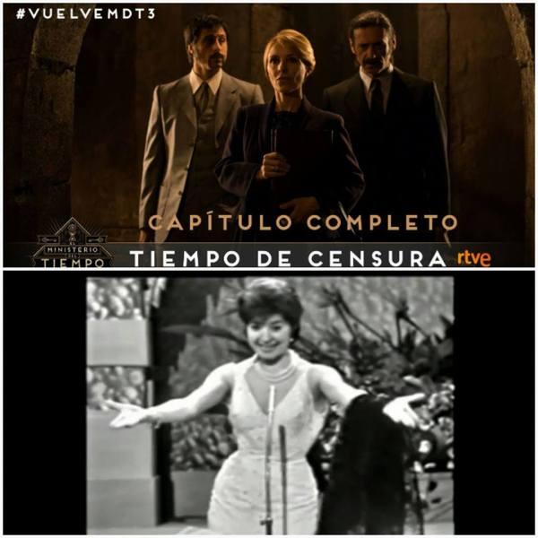 Tiempo de censura El Ministerio del Tiempo Conchita Bautista Eurovisión 1961