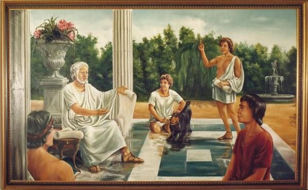 Escuela en Grecia