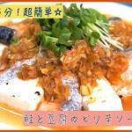 鮭 レシピ 豆腐 低糖質