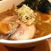 すずらん Wスープ醤油ラーメン ¥780