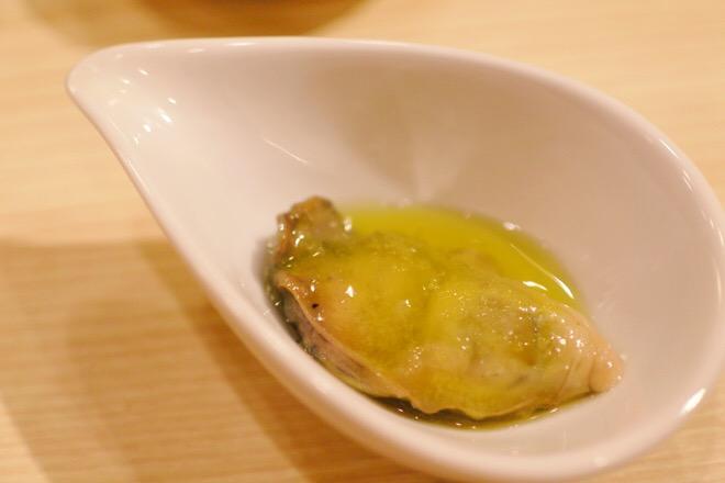 16330鮨肴匠くりや 牡蠣オイル漬け