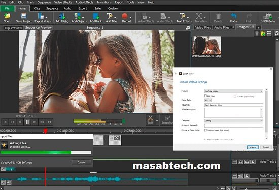 VideoPad Video Editor 10.79 Crack For Mac OS Download 2022