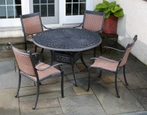 Cast Aluminum Outdoor Patio Furniture
