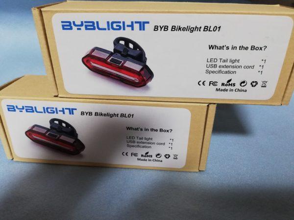 BYBLIGHTの外箱×2個
