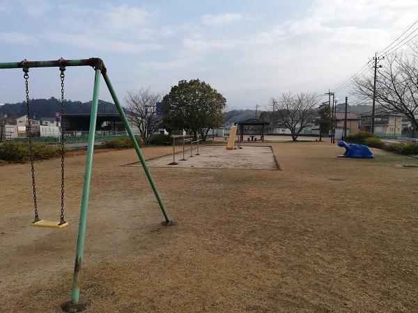 大隈駅跡の公園の様子