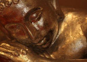 Buddah bij Masaka geeft rust. massage