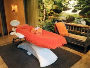 Praktijkruimte van Masaka Leende massage ruimte