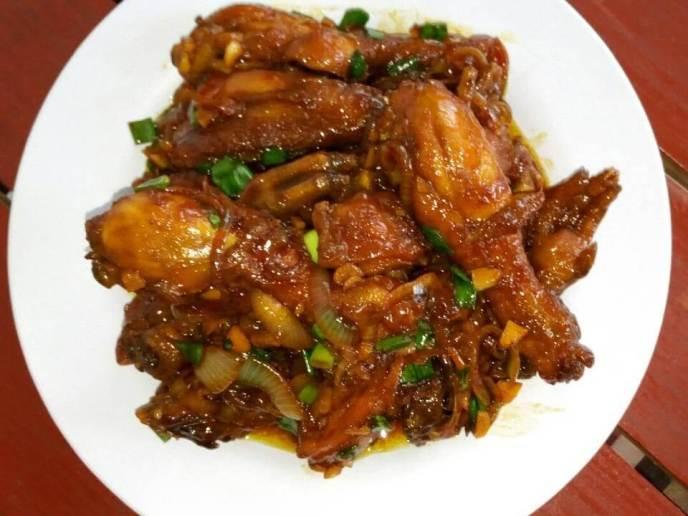 10. Resep Ayam Mentega