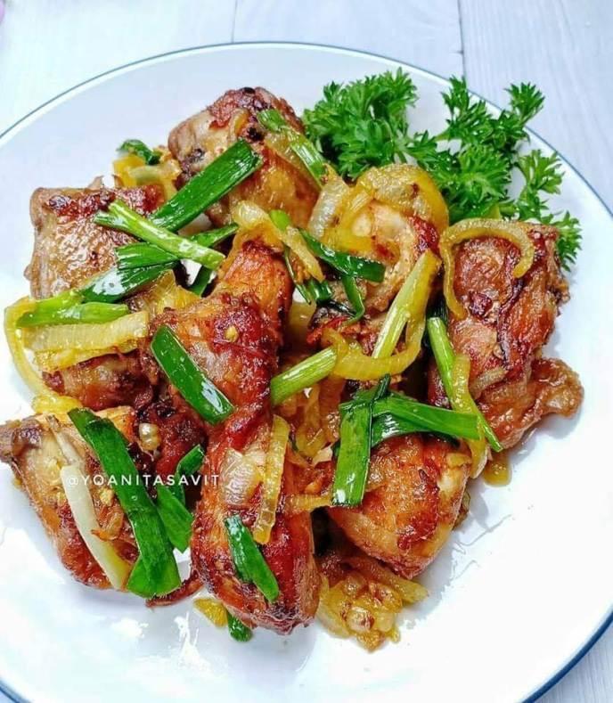 3. Resep Ayam Mentega