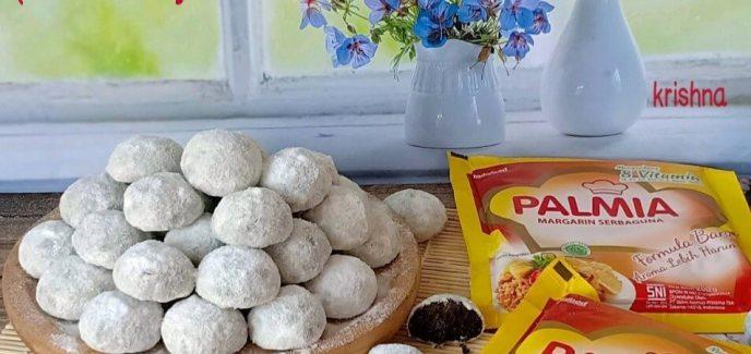 4. Cookies Putri Salju Oreo