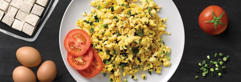 6. Telur dan Tahu Orak Arik