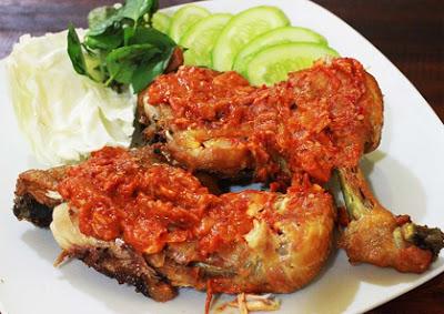 resep ayam penyet lamongan