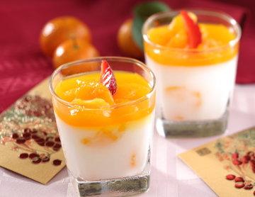 Resep Kue Basah Puding Almond Jeruk