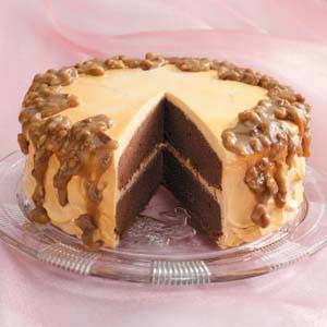 Resep Kue Coklat Karamel