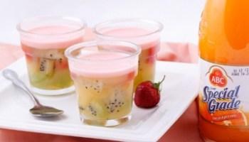 resep kue basah puding jeruk susu saus frambozen 0