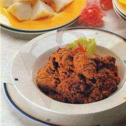 Resep Masakan Kalio Hati