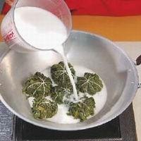 cara memasak buntil daun singkong