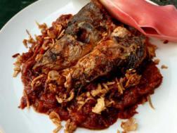 resep masakan khas indonesia ikan haruan masak habang