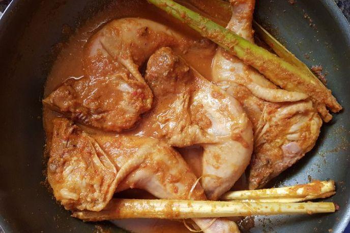 daging ayam marinasi