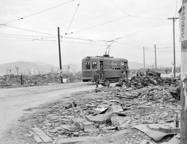 Хиросима после бомбёшки
