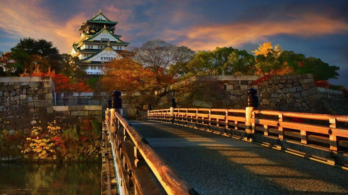 Киото. Культурная столица Японии.