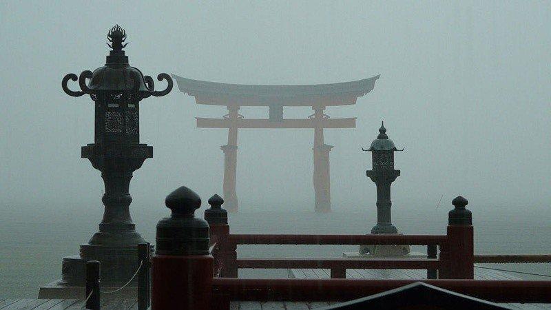 Остров Миядзима. Ицукусима Япония.
