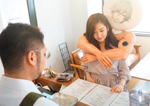 Колонки «Boyfriend hug» - идеальный способ выглядеть по японски.