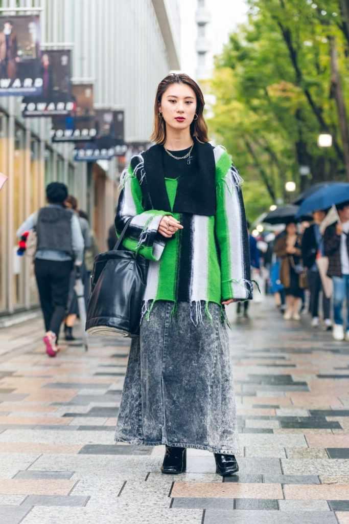 Лучший уличный стиль Токийской осени 2019.
