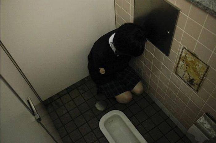 В наши дни японские дети боятся какать в школе!