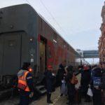 カザンからモスクワへ(ダブルデッカーの旅)